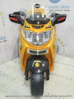 Motor Mainan Aki Pliko PK2838 Mio Yellow
