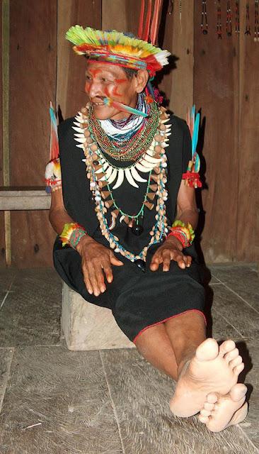 sciamano dell'amazzonia