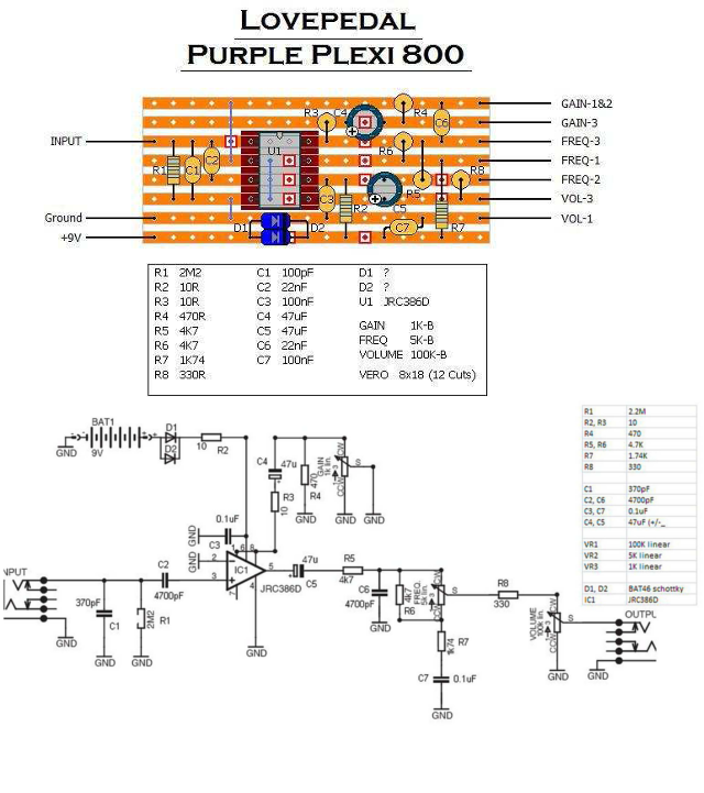 lovepimple purple pills   lovepedal purple plexi    800