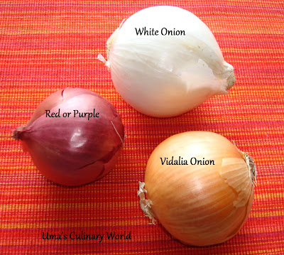 Red White Yellow Onions