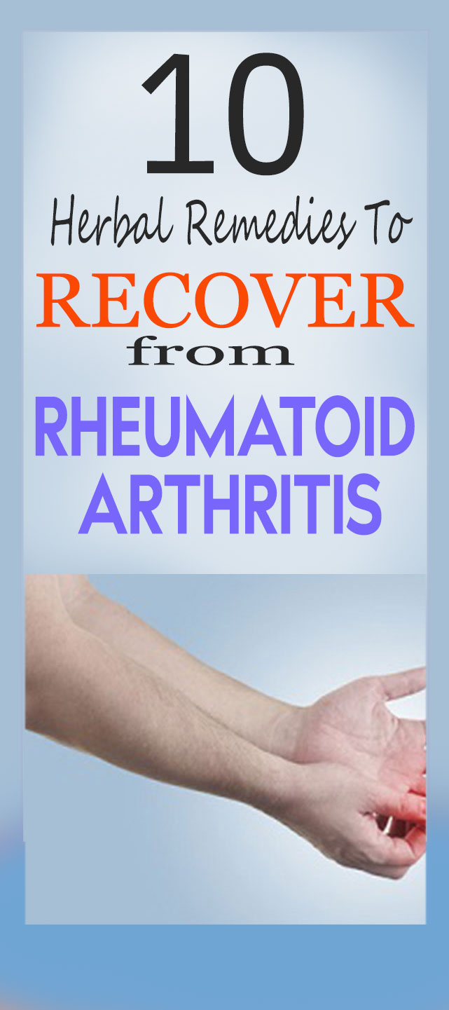 home remedies to recover from rheumatoid