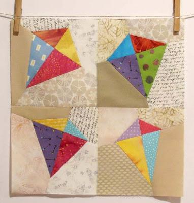 kites quilt block pattern