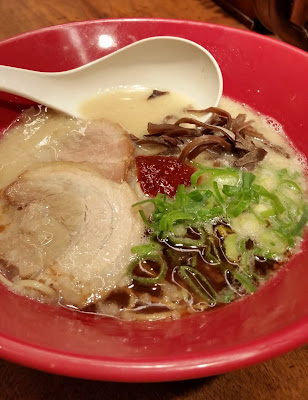 Ippudo Ramen traditional pork tonkotsu bowl