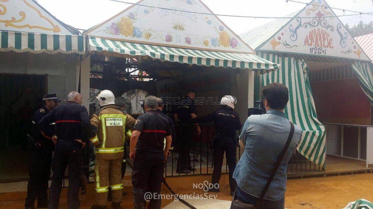 Gel n noticias el servicio municipal de bomberos sofoc for Servicio tecnico jane sevilla calle feria