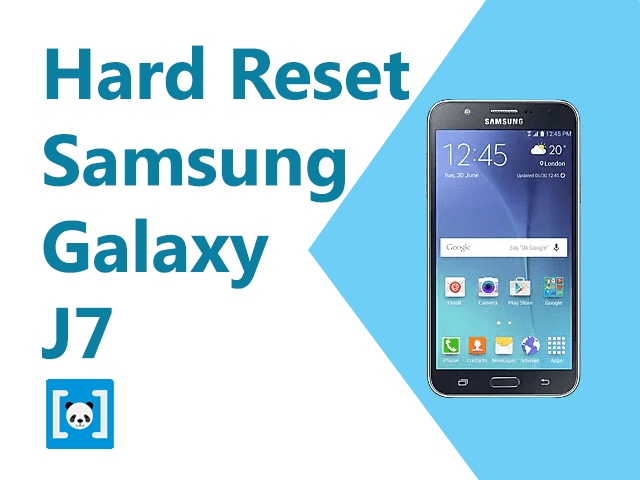 hard reset hp samsung galaxy j7