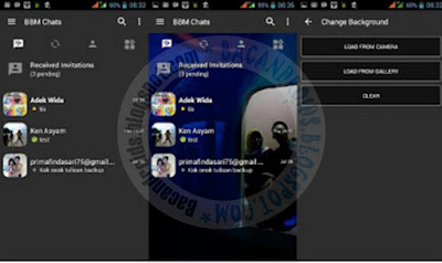 Download BBM Mod 3.0.0.18 Full Mod Apk Terbaru Change backgroung warna edit Sendiri
