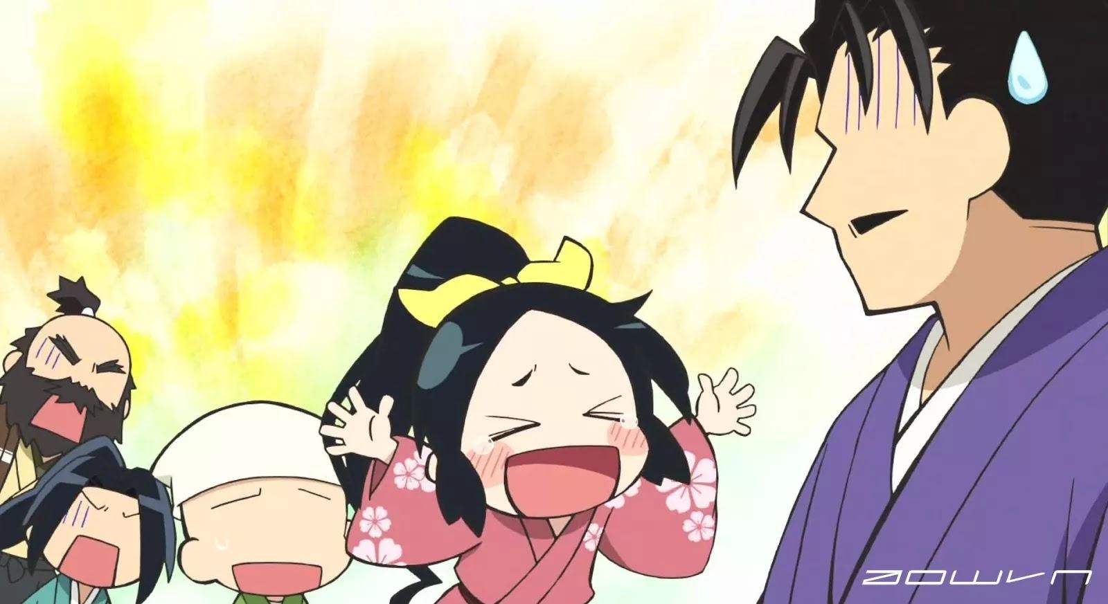 nobugana AowVN - [ Anime 3gp mp4 ] Nobunaga no Shinobi | Vietsub – Hài Hước
