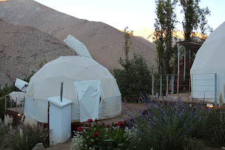 Glamping in Chile's Elqui Valley. Photograph by Janie Robinson, Travel Writer