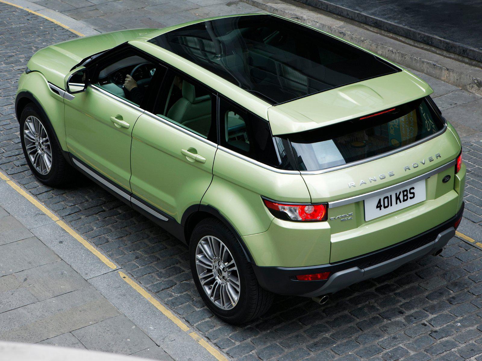 Automotive Database Range Rover