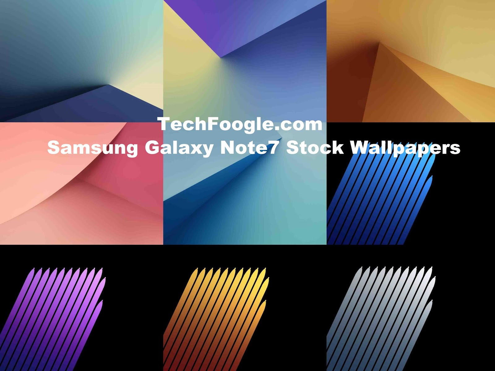 Samsung Galaxy Note7 Leaked Stock Wallpapers Download Now