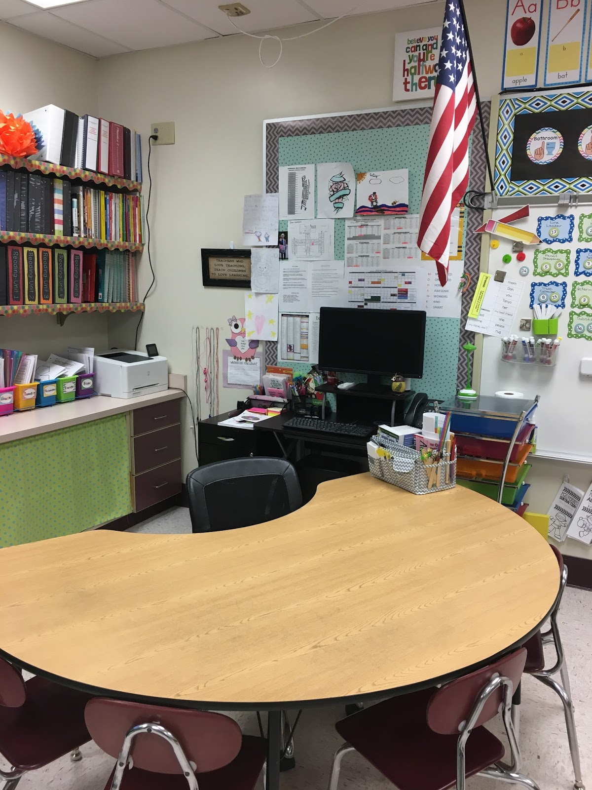 Spicing Up Second : Classroom Reveal 2017-2018
