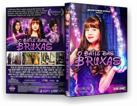 CAPA DVD – O BAILE DAS BRUXAS DVDR