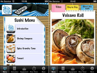Teach Me Sushi Expert iPhone app released