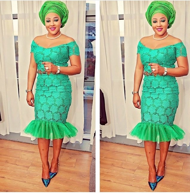 Inspirational Aso Ebi Oufit For Ladies Gistend