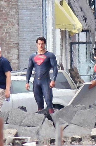 Fotografías Filtradas del nuevo Superman