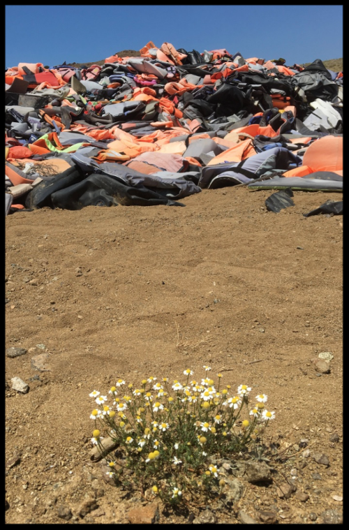 Insights and Sounds: Lifejackets and Refugees