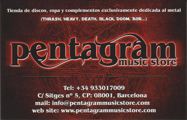Pentagram Records Barcelona