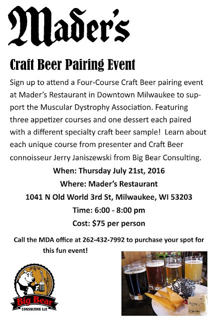 Muscular Dystrophy Association Mader's Restaurant Milwaukee
