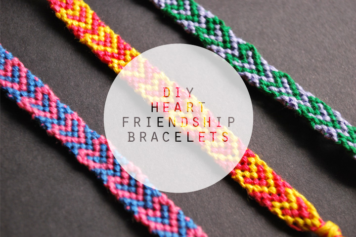 Diy Heart Friendship Bracelets Custom Double Wave Friendship Bracelet Pattern