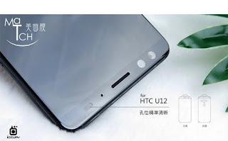 Kamera depan HTC U12+