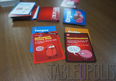 Organ Attack - cards