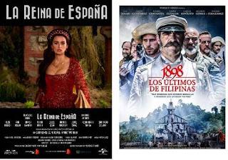 'La Reina de España' y '1898. Los últimos de Filipinas': los españoles entre el boicot y la nostalgia