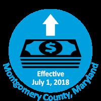minimum wage increase effective July 1st, 2018.