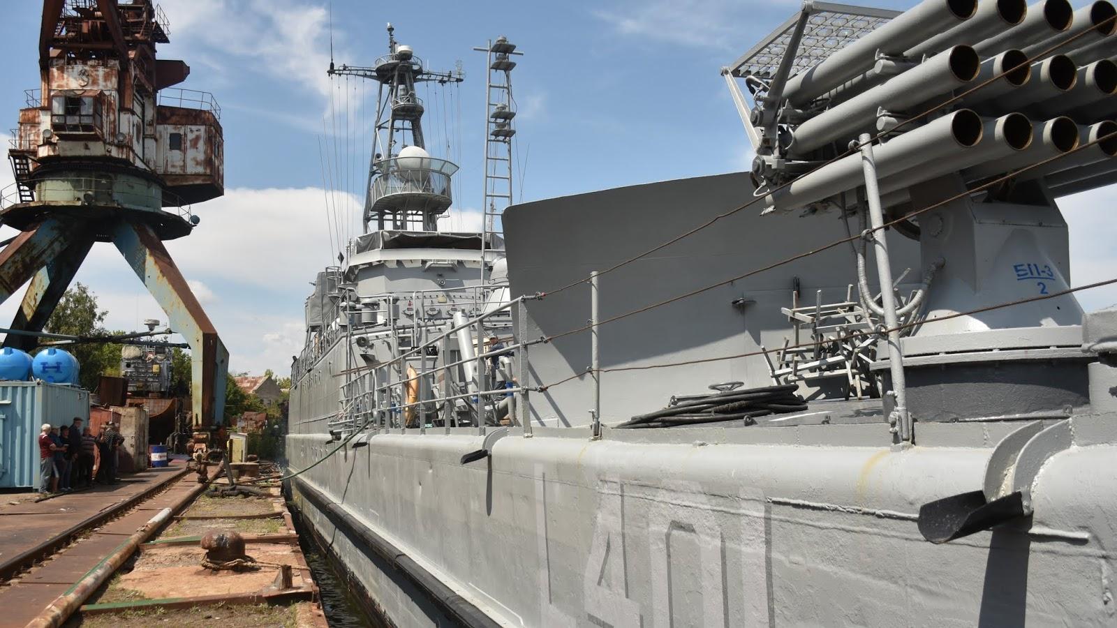 СДК L401 Юрій Олефіренко зайшов на ремонт