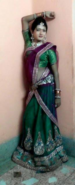 Elegant Indian Crossdresser