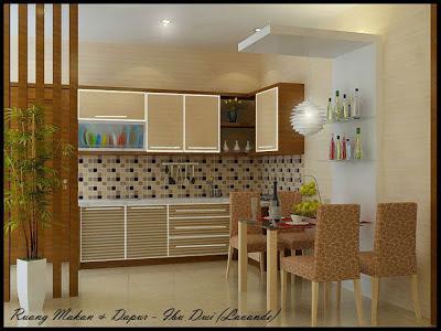 Solusipropertidesain Dapur Modern Lemari Putih Aksesoris