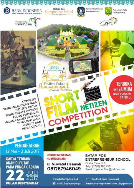 Festival Syawal Serantau 03 SHORT FILM NETIZEN PENYENGAT HALAL COMPETITION