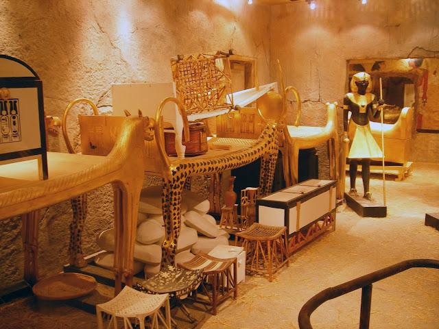 La tumba de Tutankamón, que se creía que estaba protegida por una poderosa maldición