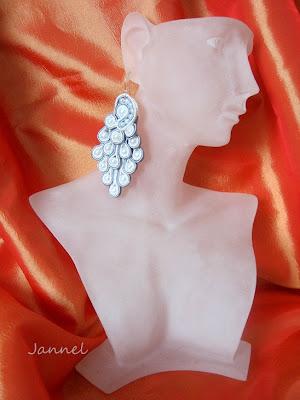 Sutasz kolczyki z perłami