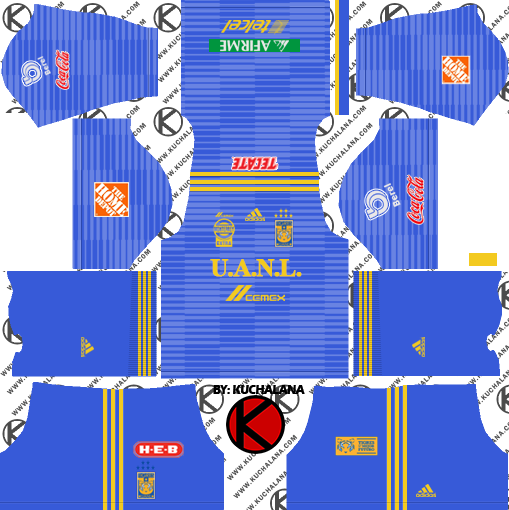 uniformes dream league soccer 2018
