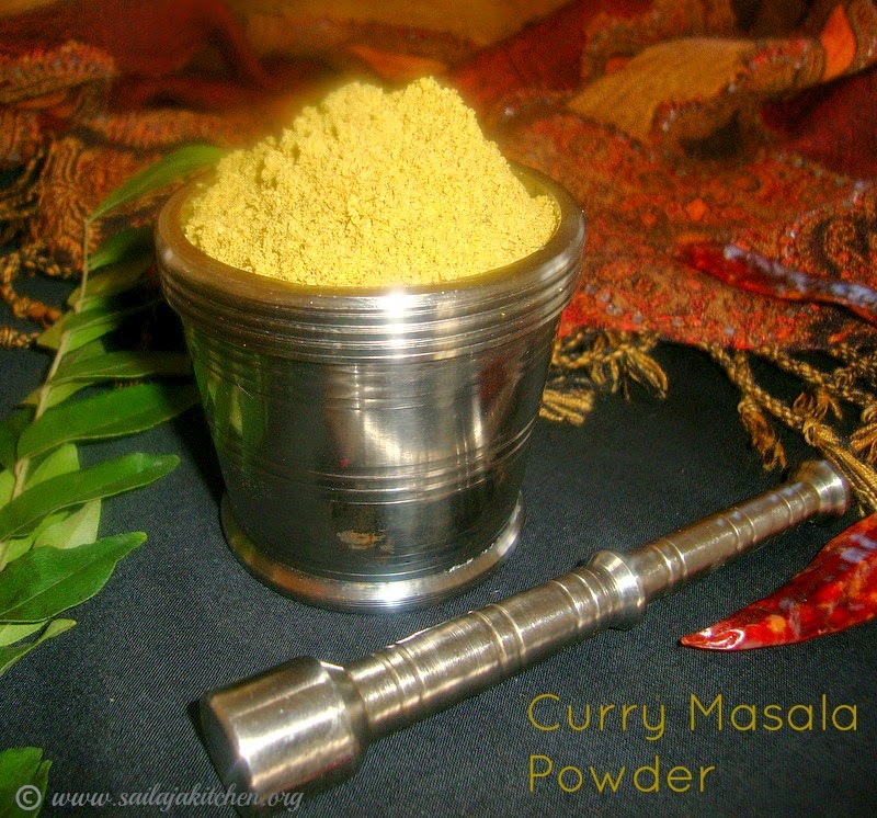 images for Curry Masala Powder Recipe / Poriyal Masala Powder Recipe - Used for Poriyal / Sabzi / Palya