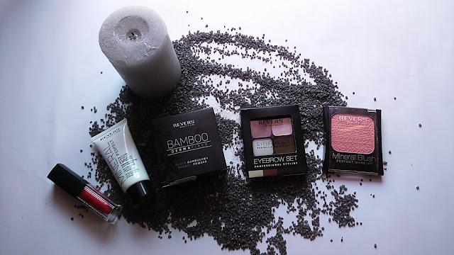 Recenzja kosmetyków do makijażu firmy Revers Cosmetics