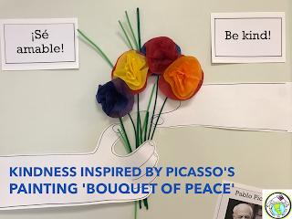 Kindness Activity Inspired by Picasso