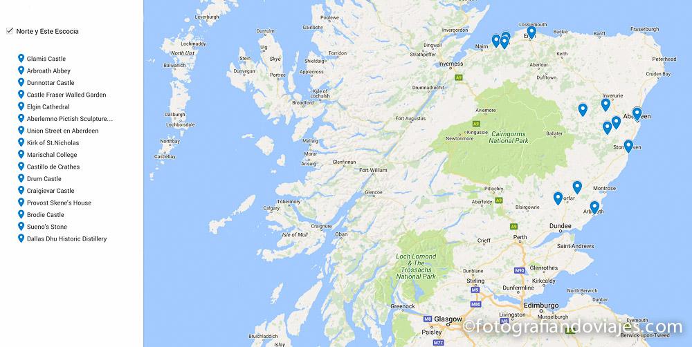 Viaje a Escocia en coche