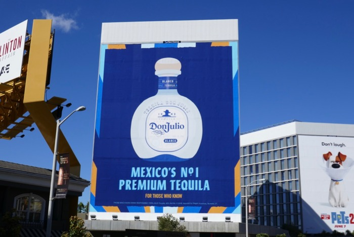 Don Julio Mexico premium Tequila billboard