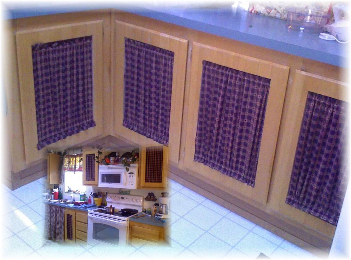kitchen cabinet door curtains kitchen cabinet doors