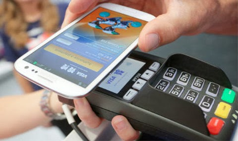 Paiement sans contact par mobile