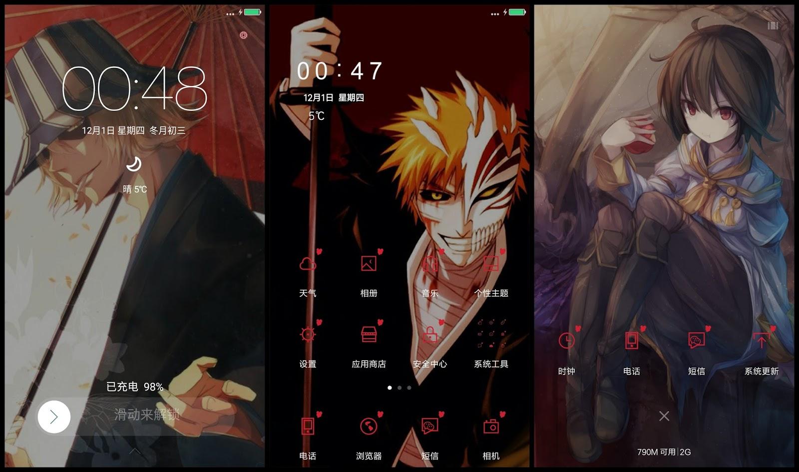 Tema Xiaomi Bleach V2