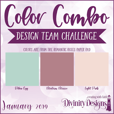 Divnity Designs January Color Combo Design Team Challenge