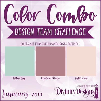 Divnity Designs January Color Combo Design Team Challenge