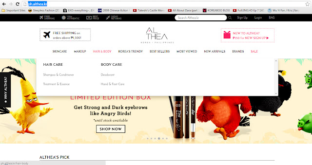 Althea Philippines - Korean Online Beauty Shop pinknomenal.blogspot.com