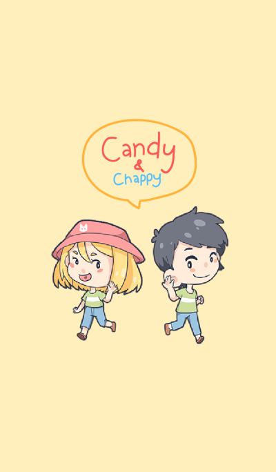 Candy & Chappy - love Couple