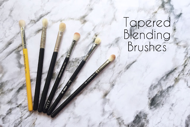 The 3 Essential Eyeshadow Brushes That You Need- tapered blending brush