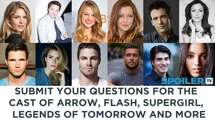 Heroes & Villains Fan Fest - Submit questions for the cast of Arrow, Flash, Supergirl & more