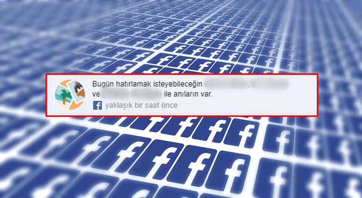 Facebook'ta Tarihte Bugün Bildirimleri Nasıl Kapatılır?
