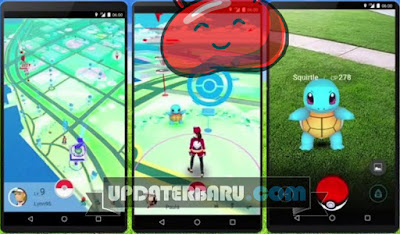 link download Pokemon GO MOD Apk v0.31 For Android Jellybean RAM 512MB